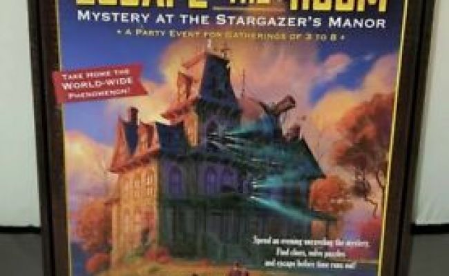 Escape The Room Mystery At The Stargazer S Manor Thinkfun