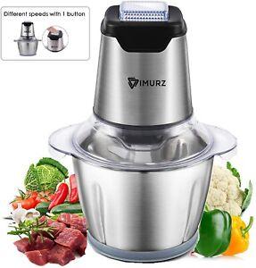 details sur hachoir electrique mini robot multifonction legumes fruits viandes noix cuisine