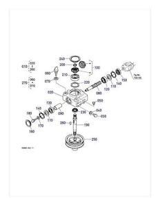 New OEM Kubota Gearbox Gear Box K5668-33100 K5668-33105