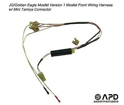 JG Golden Eagle Mosfet Wiring Front Harness MINI Airsoft