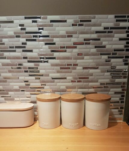 Today Tests Temporary Backsplash Tiles From Smart Tiles Tic Tac Tiles Review | Zef Jam