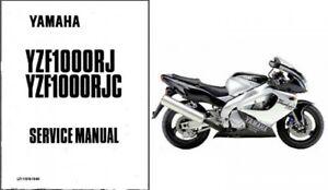 1996-2003 Yamaha YZF1000R Thunderace 1000 Service Manual
