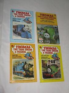 Bundle of 4 Vintage Thomas the Tank Engine Ladybird books