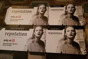 details about taylor swift reputation promo poster brand new