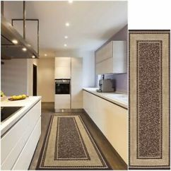 Rug Runners For Kitchen Red Chairs Modern Hall Runner Long Rugs Hallway Area Carpet Non ...