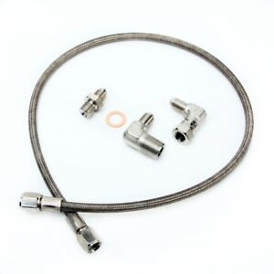 Fits DSM 1g Eclipse EVO 1~3 TD05H Oil Feed Line Kit (From