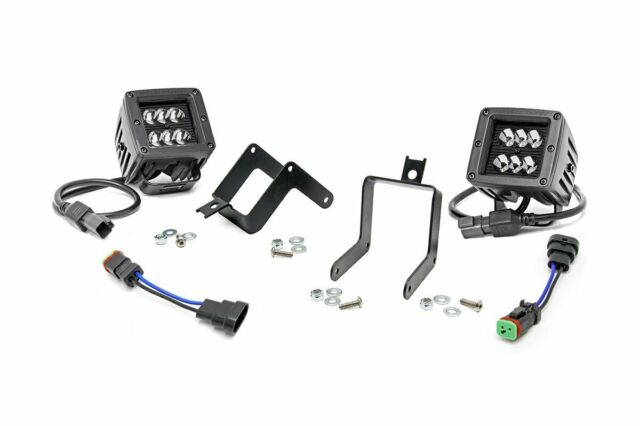 Rough Country LED Cube Fog Light Kit (fits) 11-16 Ford