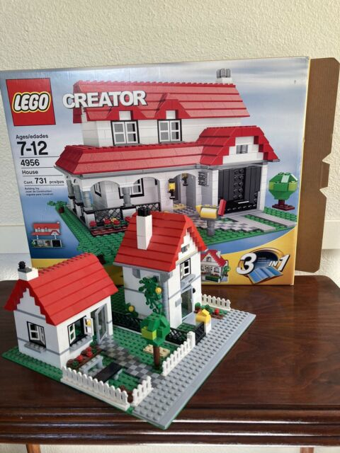 LEGO 4956 Creator 3 in 1 House set 4956 - Complete with Box and Manuals   eBay