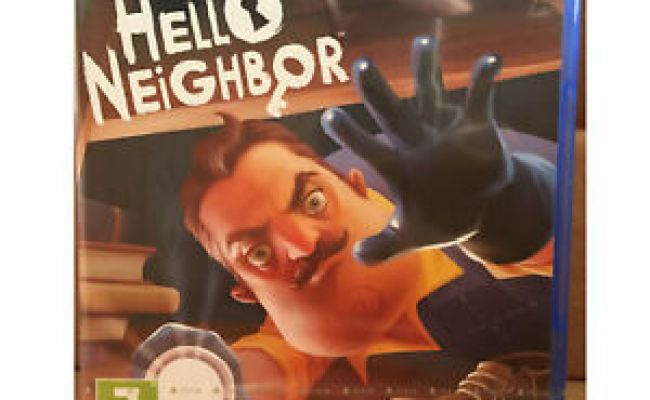 Hello Neighbor Ps4 Uk Pal New Sealed Game Neighbour