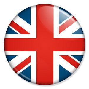Union Jack 25mm 1 Pin Badge Button Flag United Kingdom