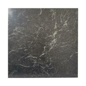 details about floor tiles self adhesive vinyl flooring kitchen bathroom black marble effect