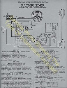 1939 Packard 1701 1702 Strt 8 Car Wiring Diagram Electric