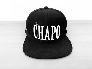 NERO Snap Back Cap el Chapo gangster Narcos Limited ...