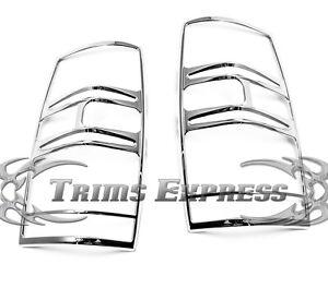 2007-2014 Chevy Tahoe/ Suburban Tail Light Chrome Guards