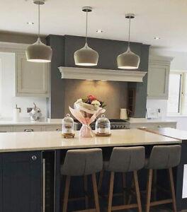 details about modern single pendant ceiling light beige droplet kitchen island pendant