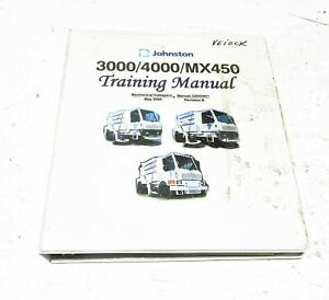 Johnson Sweeper 3000/4000/MX450 Training Manual 32655901