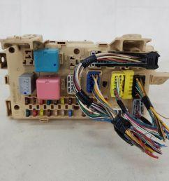 relay fuse box corolla verso [ 1600 x 1200 Pixel ]