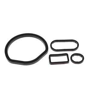 4Pcs Oil Filter Housing Seal Seals Kit For Mercedes W202