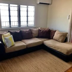 Harvey Norman York Sofa Bed With Chaise White Beige Walls Corner Modular Lounge Suite Sofas