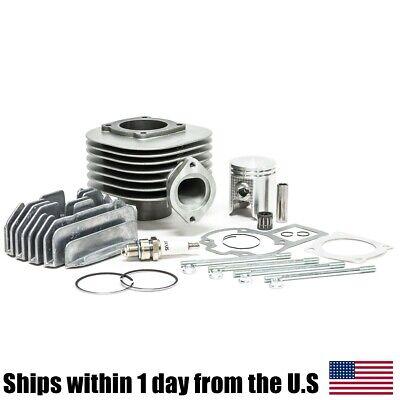Cylinder Piston Ring Gasket Head Kit for Suzuki QuadSport