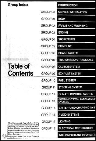 Car Manuals & Literature Service & Repair Manuals Vehicle