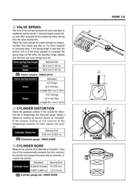 HYOSUNG service workshop manual 2005 650 Aquila 1st Ed