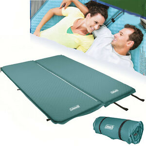 Image Is Loading Coleman Self Inflating Double Mat Compact Mattress Air