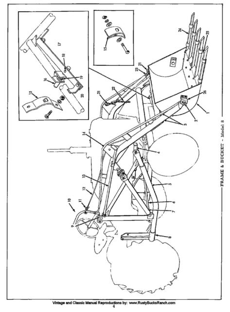 Allis Chalmers Farm Loaders Parts Manual Various Early