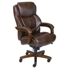 Casters For Office Chairs Gaming Pc La Z Boy La-z-boy 45833 Delano Big & Tall Executive Bonded Leather Chair | Ebay