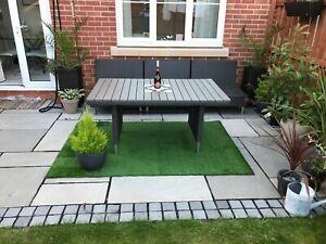details about artificial grass outdoor rug roll 200cm x 133cm
