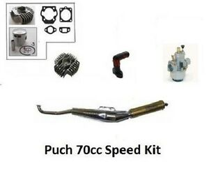 PUCH 70cc Big Bore Hi Performance Compl Engine Kit All