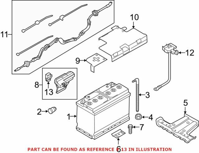 05 Audi A6 Battery Fuse Overload Protection Trip 4F0915519