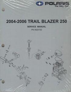 2004-2006 POLARIS ATV TRAIL BLAZER 250 SERVICE MANUAL P/N