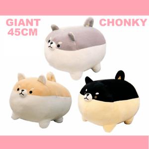 details about giant chonky kawaii angry shiba inu dog plush plushies cute mochi tsum pillow