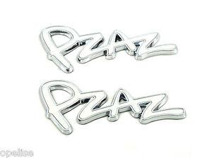 2 x Genuine New RENAULT PZAZ REAR QUARTER PANEL BADGE Clio