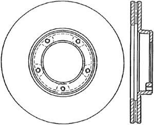 Front Brake Rotor For 1989-1995 Toyota Pickup 1990 1994