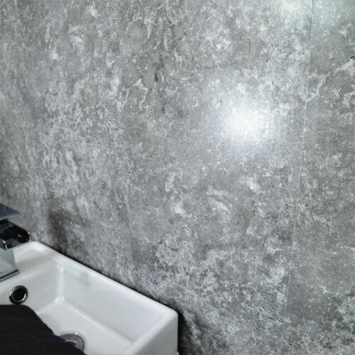 papier peint outils access gris lune salle de bain mur panneaux douche humide mur pvc plafond habillage wc cuisine bricolage superiorhwc com