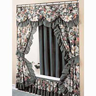 fabric shower curtain and bath accessories ebay