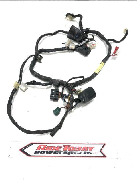 04-06 Yamaha Fz6 Main Engine Wiring Harness Motor Wire