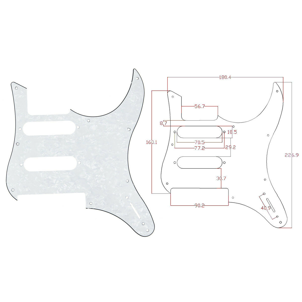 yamaha pacifica 112v wiring diagram how to use a moody white pearl guitar pickguard for