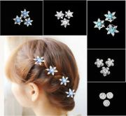 elegant women girls bride snowflakes
