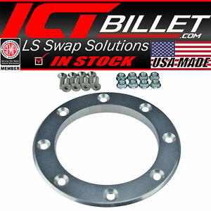 details about 4 inch exhaust pipe fender exit bezel turbo downpipe dump trim ring billet f