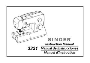 Singer 3321-TALENT Sewing Machine/Embroidery/Serger Owners