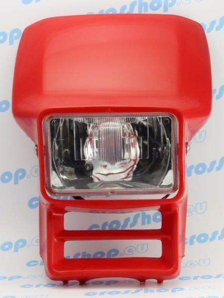 mascherina portafaro Honda Xl 600 XR 250 XR 600 cemoto colore rosso headlight