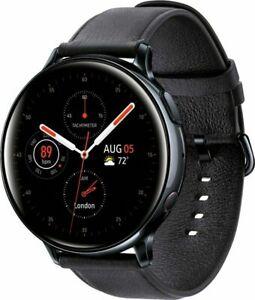 Samsung Galaxy Watch Active 2 SM-R825U 44mm Stainless Steel Black Smartwatch