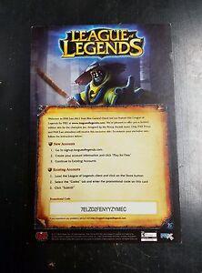 League of Legends :: Pax Jax Skin Code Card | eBay