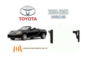 2000-2003 TOYOTA MR2 SPYDER DASH INSTALL KIT for CAR