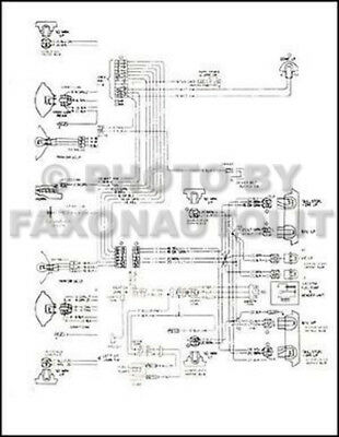 1976 GMC Astro 95 Chevy Titan 90 Foldout Wiring Diagram GM