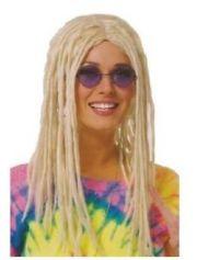 blonde rasta costume wig dreadlocks