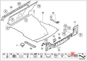 Genuine Battery Wiring Cap x5 pcs BMW E38 E39 E46 316i 1.6